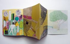 Exquisite Corpse Book | based on the Surrealist game called the Exquisite Corpse. The book ...