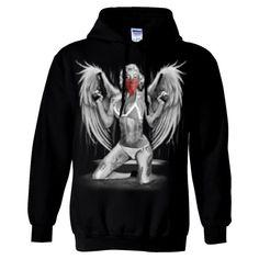 Marilyn Monroe Sexy Gangster Angel Sweatshirt Hoodie