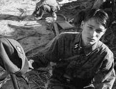 Soldiers of the 15th Waffen Grenadier Division of the SS (1st Latvian)