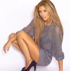 Kim Kardashian blonde photo