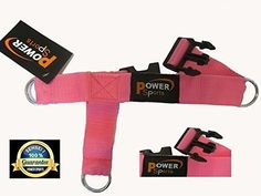 FUCHSIA Gym Ankle Strap Ankle//Foot Strap Cable Machine Attachment Single