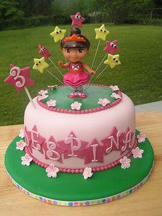 Dora Birthday Cake by Creative Cake Designs (Christina), via Flickr
