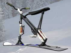 ski bike mono ski