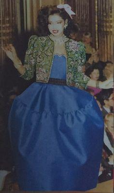 Janvier 1981. Haute couture été 1981. L Officiel 1000 modèles.