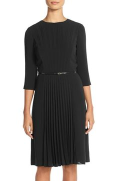 0d9304b0db Adrianna Papell Pleated A-Line Dress (Regular  amp  Petite) at Nordstrom.