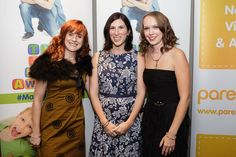 Before we became Winners - Fiona, Jennie and me. Photo by Tom Arber Photography for MAD Blog Awards.