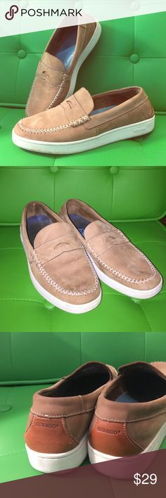 SEBAGO Wentworth Classics This leather is super soft and comfortable. Easy slip on design can be dressed up with slacks or casual with a great pair of khaki shorts. Gently used. Look great. Men's 7.5 is a Woman's 9.5. 41 is the European size. Sebago Shoes Loafers & Slip-Ons