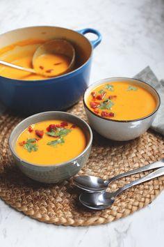 Dutch Recipes, Soup Recipes, Vegetarian Recipes, Healthy Recipes, I Love Food, Good Food, Yummy Food, Food Crush, Healthy Menu