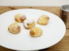 Receta   Profiteroles de crema de caramelos de eucalipto - canalcocina.es