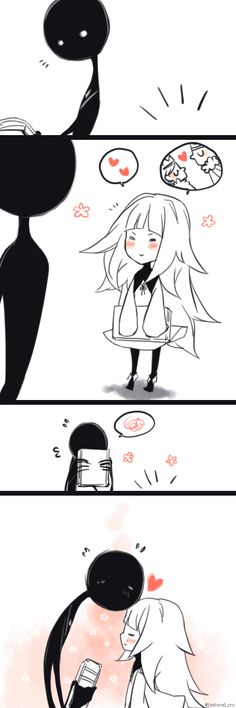 Cute ^^ ~ So, I haven't finished the game, but I ship the silent Deemo and the lost Girl together X3