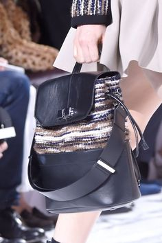 Pin for Later: Chanel, Louis Vuitton, Celine: Come See the Amazing Bags From Paris Fashion Week  Carven Fall 2016