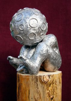 COSMIC KID | Aluminum | 45 cm. height | [please send a mail for the price]