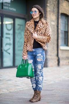Street style from London fashion week autumn/winter '16/'17: