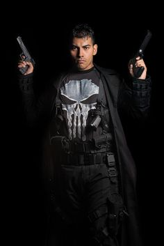 The Punisher by Jesus Gonzalez - Comicpalooza 2013