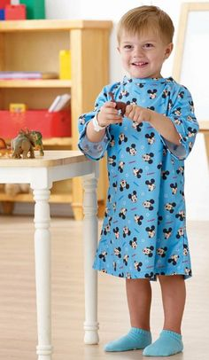 Amazon.com: Disney Pediatric Iv Hospital Gowns (Toddler, Light Blue): Health & Personal Care
