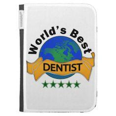 World's Best Dentist Kindle Keyboard Covers
