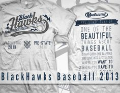 BlackHawks Baseball 2013 on Behance