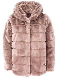 Faux Fur Light Pink - Coat