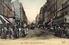 #photo #histoire Rue Oberkampf vers 1900 (1) #PEAV #Paris11 @Menilmuche @HistoricalPics @ParisHistorique