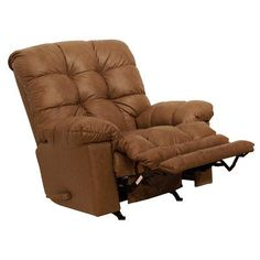 Cloud Ten Leather Chaise Recliner Color Mushroom * For more information, visit image link.