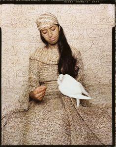 "Lalla Essaydi from her ""Les Femmes du Maroc"" series"