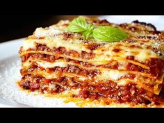 No te defraudará: lasagna original Bechamel, Moussaka, Scottish Recipes, Good Food, Yummy Food, Latin Food, Home Chef, Original Recipe, Snacks