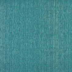Aqua Small Stripe Damask Upholstery Fabric