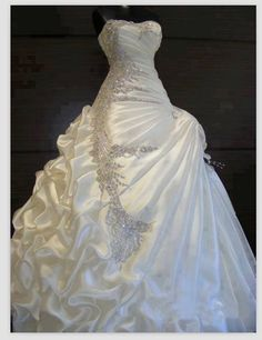 Image result for Belle's ballroom grown for modern wedding dress styles.