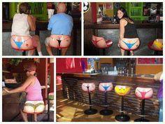 OMG!  Best bar stools EVER!