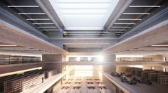 NEW CENTRAL AND REGIONAL LIBRARY, BERLIN, GERMANY / VOF REVISION | moa.ch