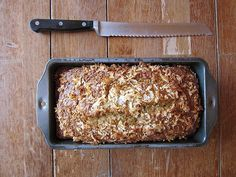 Coconut Banana Bread: Nothing makes banana bread more addictive than the addition of coconut. This recipe keeps it light with Greek yogurt and egg whites. The flaky coconut crust is just what we'll be craving all Summer long.