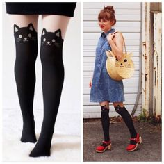 Selling this 😍SALE😍 Kitty Cat Tights on Poshmark! My username is: em_stjohn. #shopmycloset #poshmark #fashion #shopping #style #forsale #Wila #Accessories