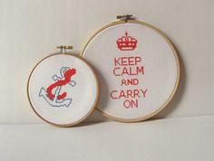 keep calm stitchery