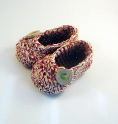 chaussons bébé au crochet