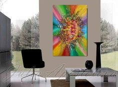 , Painting by Julia Apostolova on Artfinder. Acrylic Painting Tips, Painting Edges, Abstract Paintings, Abstract Art, Contemporary, Modern, Color Splash, Buy Art, Zen