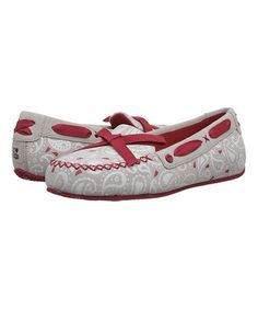 Loving this Dove Paisley I Heart Belle Suede Moccasin - Women on #zulily! #zulilyfinds
