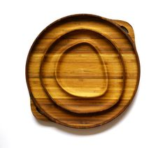 """Bamboo Serve ware for your party. 11"""" by Nuservewares on Etsy, $180.00"""
