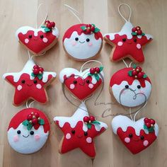 1 million+ Stunning Free Images to Use Anywhere Easy Christmas Ornaments, Christmas Craft Fair, Christmas Craft Projects, Felt Christmas Decorations, Felt Ornaments, Felt Crafts, Christmas Crafts, Christmas Embroidery, Retro