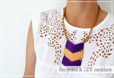 Recycle plastic bottles to create geometric accessories THINK BEFORE YOU TRASH ;)