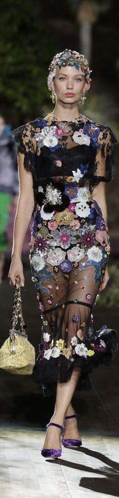 Dolce&Gabbana Alta Moda spring 2015 couture | Dolce and Gabbana