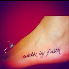 If I ever got a tattoo, it might be this one:) a great reminder