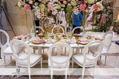 Get a look behind the design of Perfect Petals Design Group's Southern Garden Gallery at Bridal Extravaganza of Atlanta.
