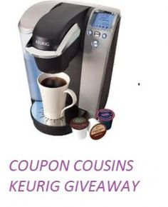 Coupon cousins  KEURIG GIVEAWAY  OH AND YOU DON'T HAVE TO LIKE A MILLION PAGES JUST ONE  ENDS 8/31    CLICK HERE>>>http://wp.me/p1VoQs-cbn