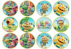 24 x Henry Hugglemonster Birthday Edible Wafer Cupcake Toppers | eBay