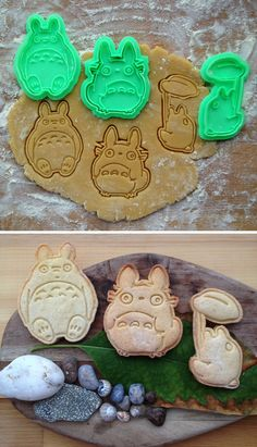 Totoro Cookie Cutters
