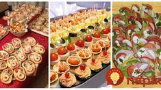 Najlepšie silvestrovské nátierky na očká, jednohubky a chlebíčky na jednom mieste: Rýchle a fantastické! Pasta Salad, Ham, Sushi, Brunch, Food And Drink, Appetizers, Snacks, Cooking, Breakfast