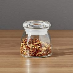 Glass Spice Jar ($1.95 ea.) @ Crate and Barrel