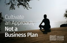 Ditch the business plan