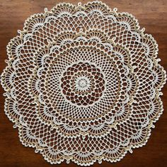 New doily, putting it in my shop later  #crochet #handmade #doily #etsy #etsyshop
