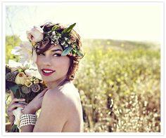 Peinados para novias modernos que harán furor en esta primavera-verano